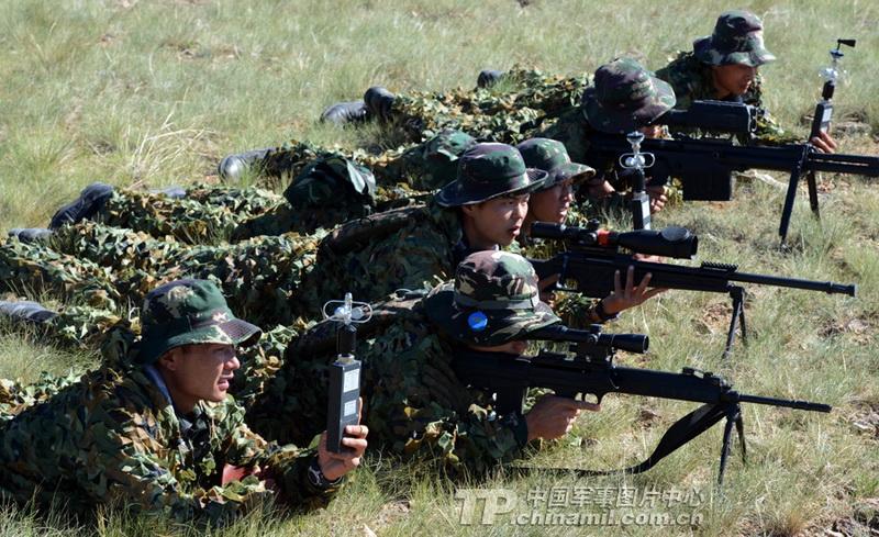 高清 解放军特种部队狙击战斗模式曝光