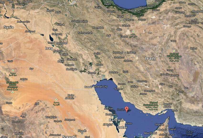 波斯湾/波斯湾所在地区。