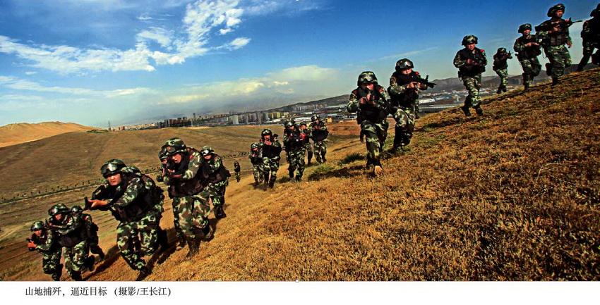 新疆武警反恐被戳掉4颗门牙后忍痛一枪击毙歹