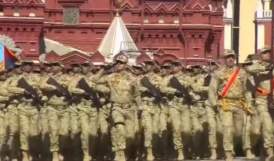 阿塞拜疆陆军方队