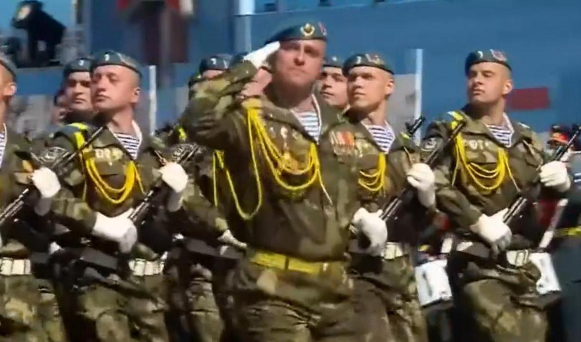 白俄罗斯特种部队方队
