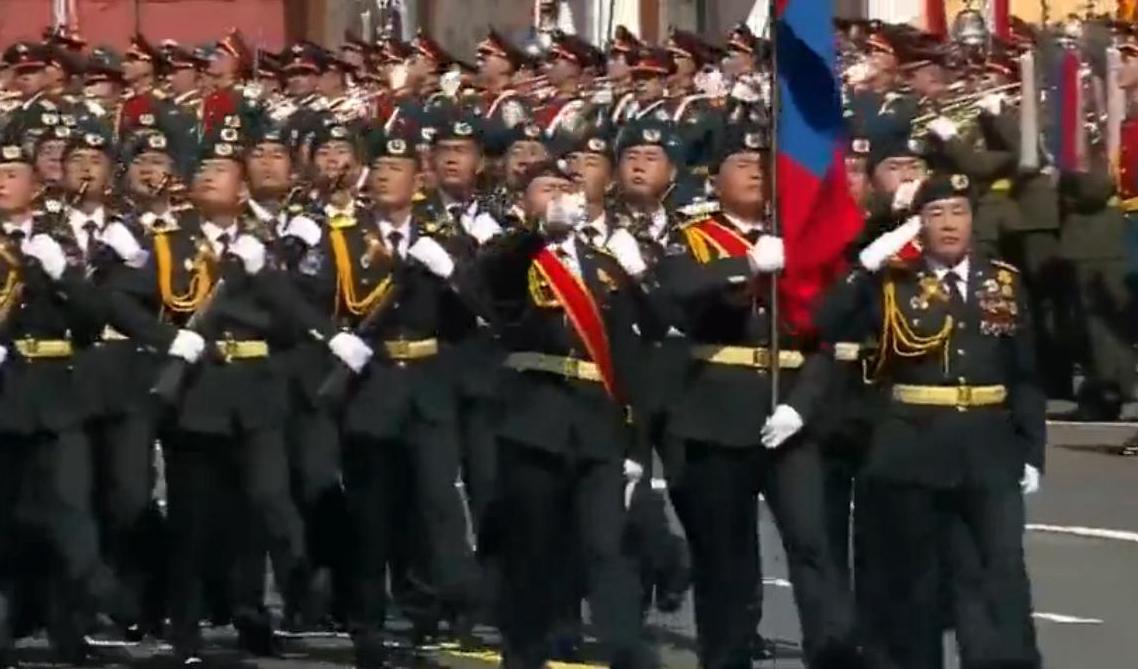 蒙古武装部队方队