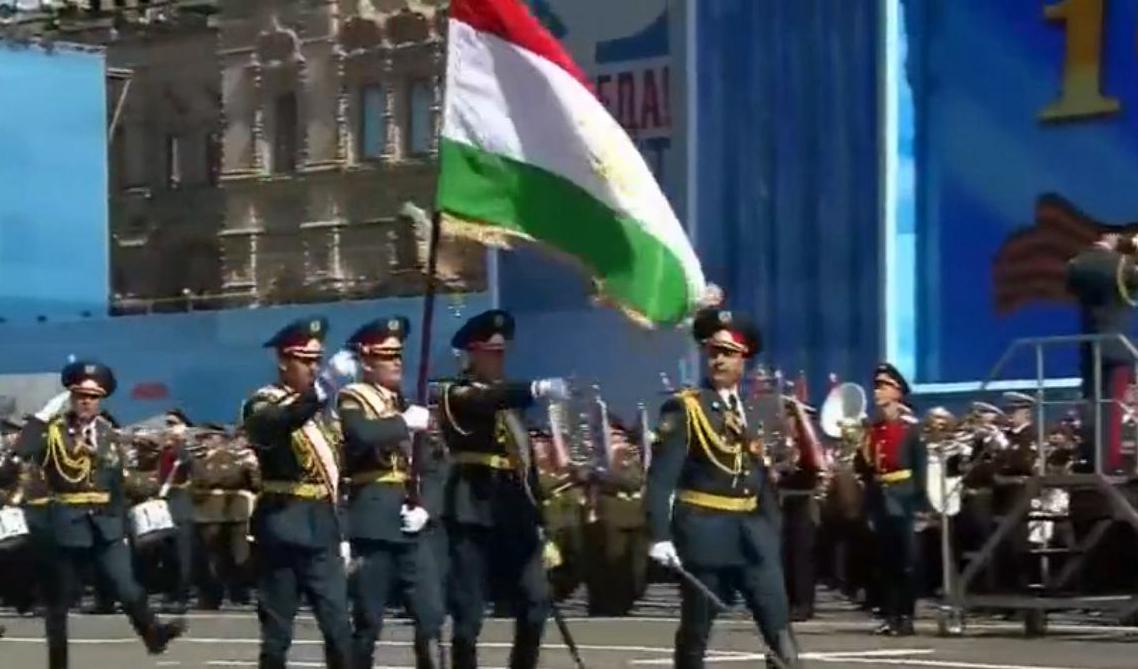 塔吉克斯坦国防部军事学院方队