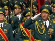 吉尔吉斯斯坦总统警卫团方队