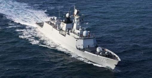 中俄主战舰艇聚首地中海 专家:应习惯我军舰赴远海