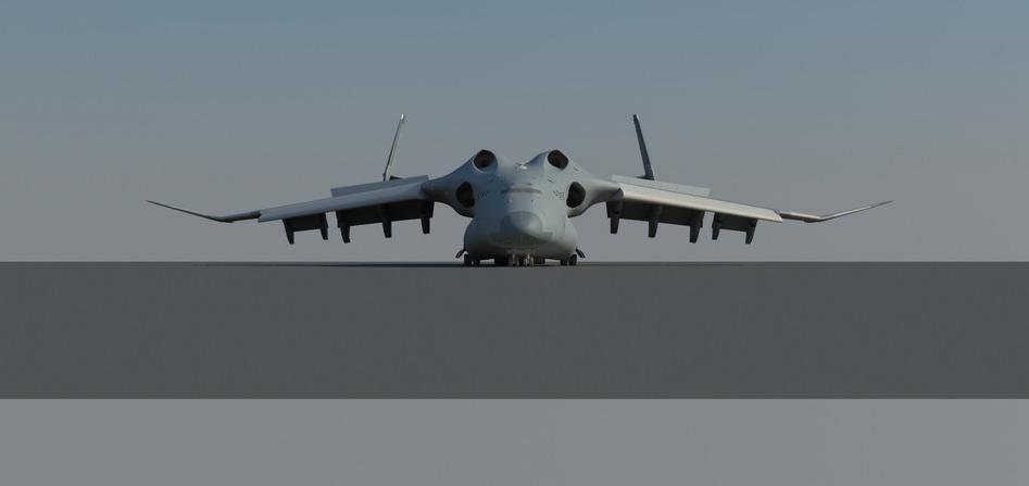 高清:网友设计我军未来战略运输机
