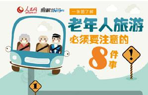 一图了解老年人旅游必须要注意的八件事