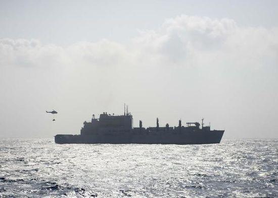 资料图:美舰艇巡航南海