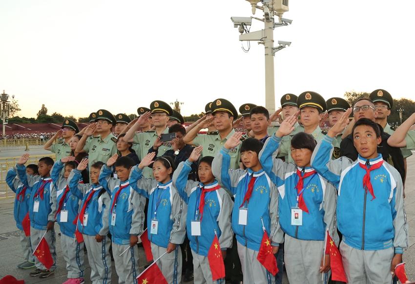 武警交通部队牵手西藏孔繁森小学 率16名师生赴京见学图片