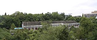 贵州大学校园一景