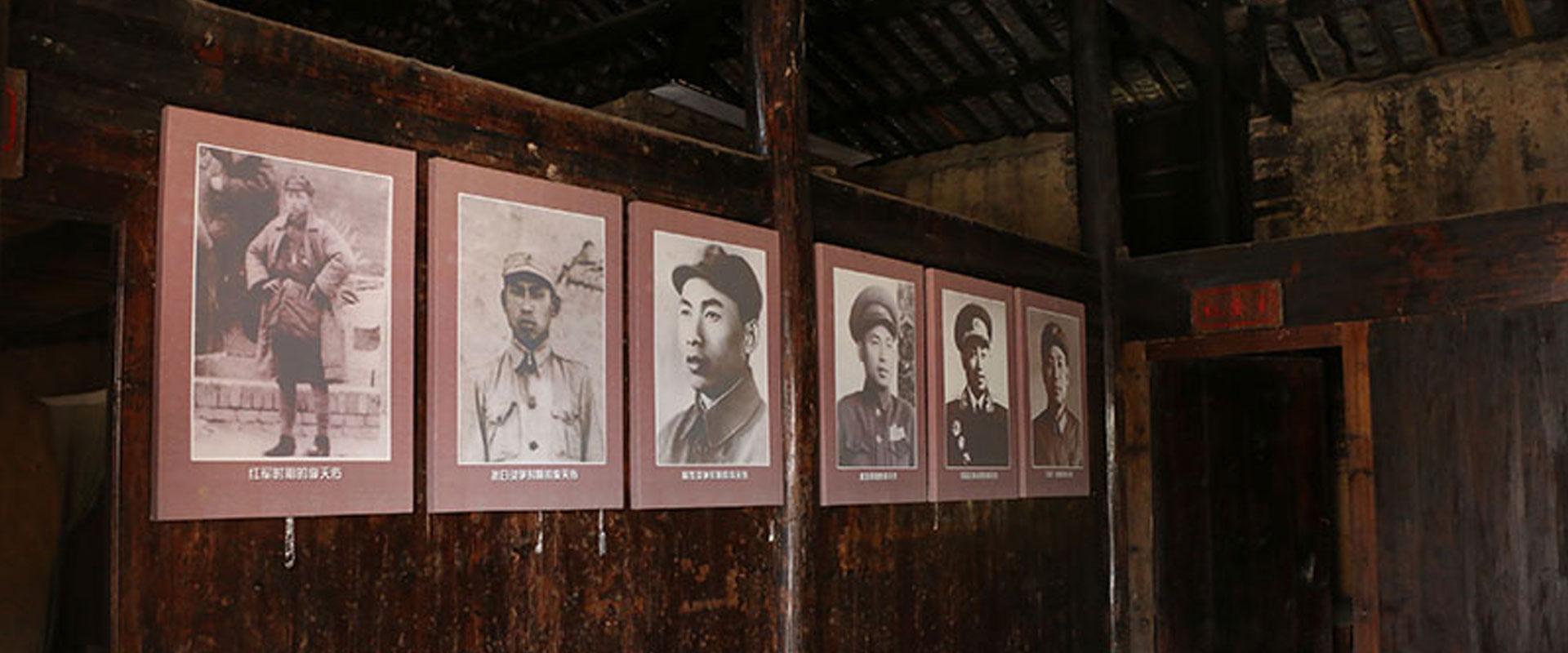 红五师师长李天佑各时期的照片