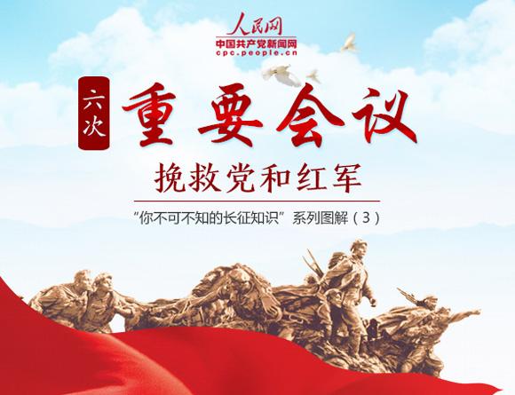 """""""你不可不知的长征知识"""":六次重要会议挽救党和红军"""