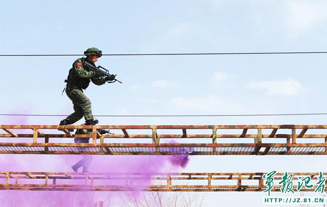 武警部队突击手是怎样练成的