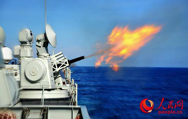 """军舰""""下饺子式""""速度增长 海军三代主战装备成骨干"""