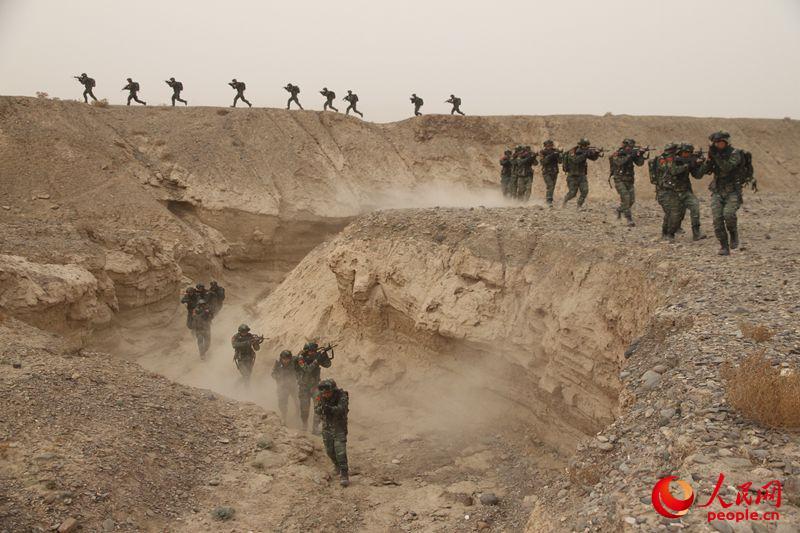 反恐精英 威震天山!立下赫赫战功的武警新疆某特勤中队