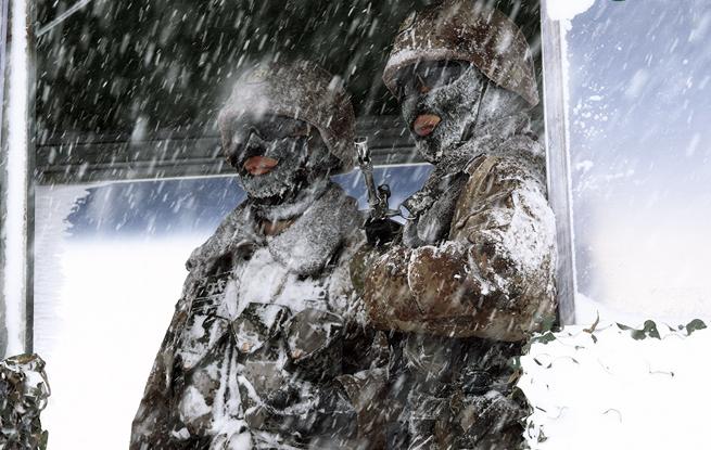 边防官兵 在海拔4700米的风雪中坚守