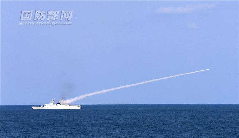 海军三大舰队的40多艘舰艇在东海进行专业竞赛性考核