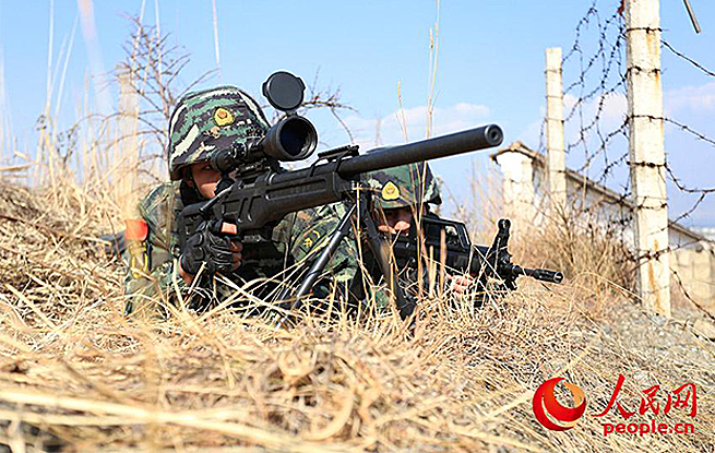 武警特战队员锤炼技战术水平:仗怎么打,兵就怎么练!