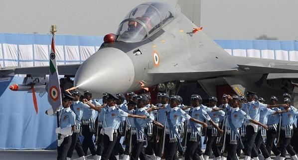 印度空军开始史上最大规模军演 演练与中巴双线作战