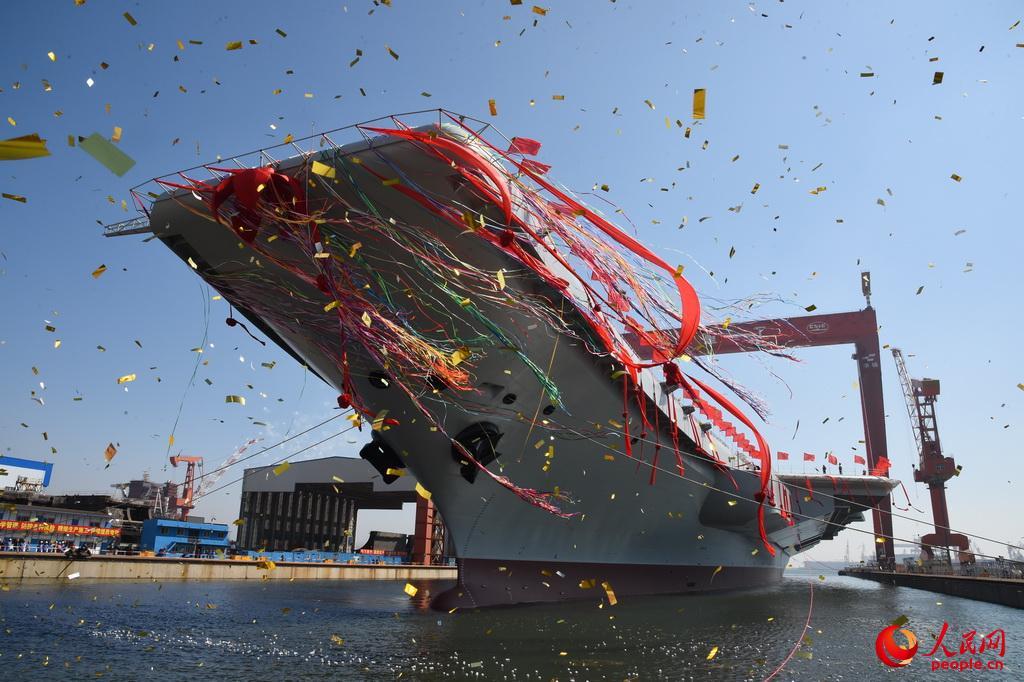 专家:首艘国产航母服役后将机动部署 担负战备值班