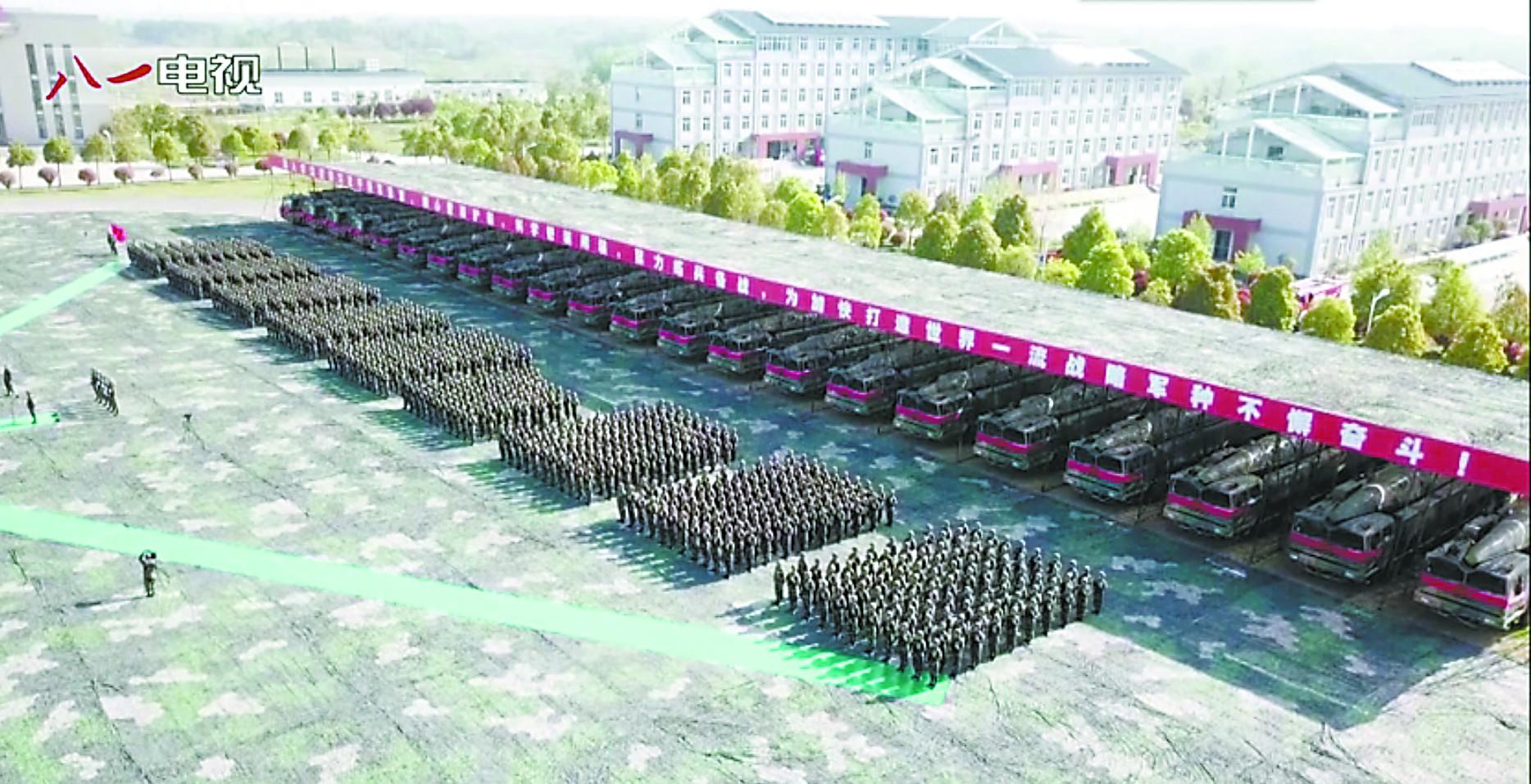 """中国新型""""航母杀手""""成建制列装 可配备核弹"""