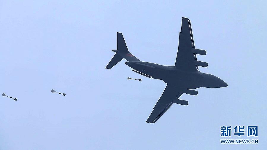 运-20首次亮相联合演练 专家:中国空军战略投送力提升