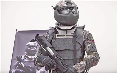 """俄罗斯单兵系统打造""""钢铁侠"""""""