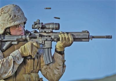 步兵班人手一支M27步枪