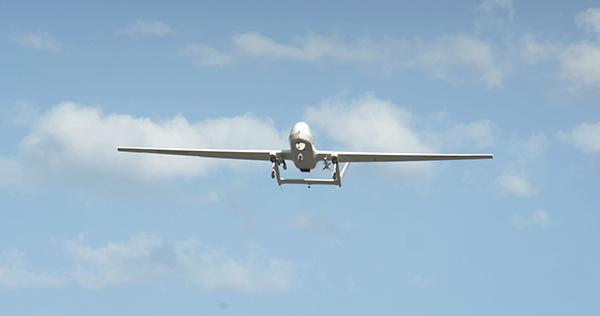 察打一体无人机BZK-005C实弹打靶成功