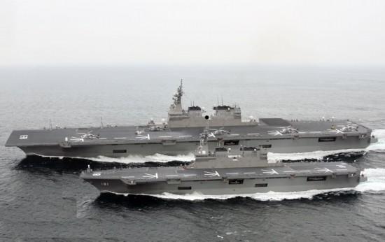 """专家:日""""出云""""号航母化将显著提高自卫队战力 或将造更大航母"""