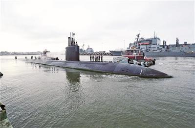 """潜艇维护遭遇""""大塞车""""愁坏美军"""