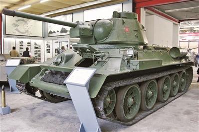 保存至今的T-34坦克