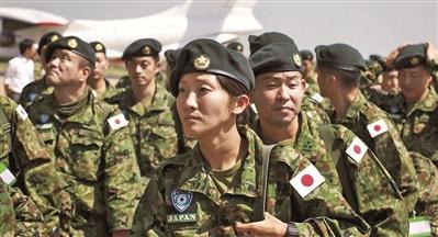日本自卫队向西奈半岛派员