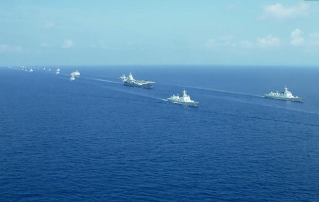 人民海军:向深海蓝水前进!走进人民海军的水面舰艇部队