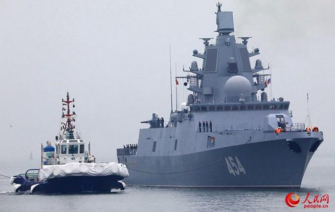 高清:多国军舰陆续抵达青岛 快来一睹风采