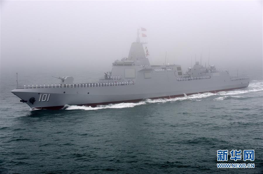 我国海军海上阅兵阵容惊艳 向世界一流海军迈进