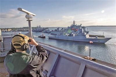 北约波罗的海军演剑指俄罗斯