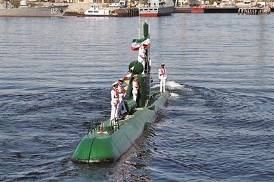 """伊朗""""小""""潜艇的""""大""""作为"""
