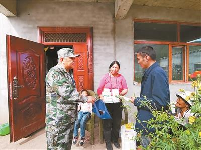 高原巡诊,为藏族群众送健康