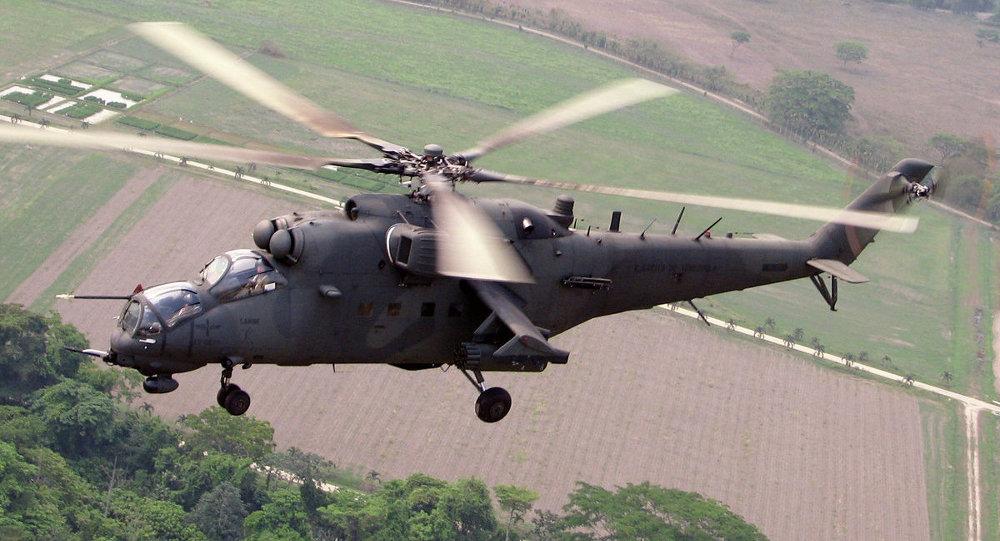 俄罗斯与尼日利亚签署12架米35直升机供货合同