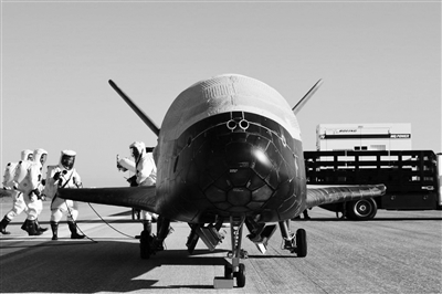"""美空天飞机X-37B返回,且看太空战略竞争""""新风向"""""""