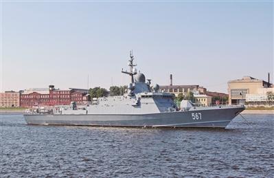 """俄罗斯建新反潜""""猎手""""护航"""