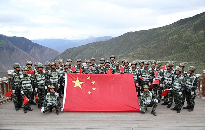 我守卫的地方是中国