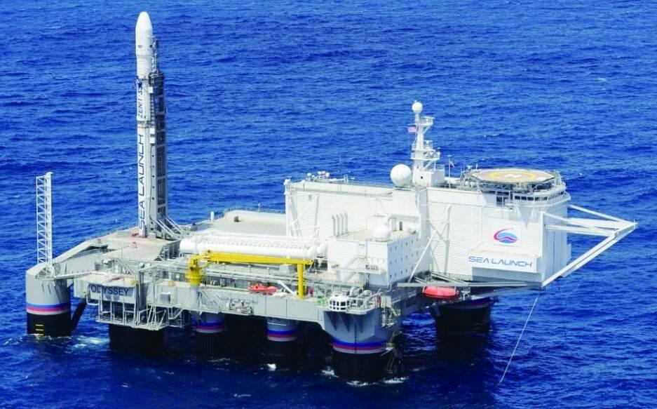 俄在远东部署海上浮动航天发射场放在俄朝边界附近