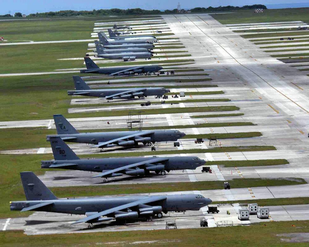 新加坡戰機將進駐關島訓練美國卻