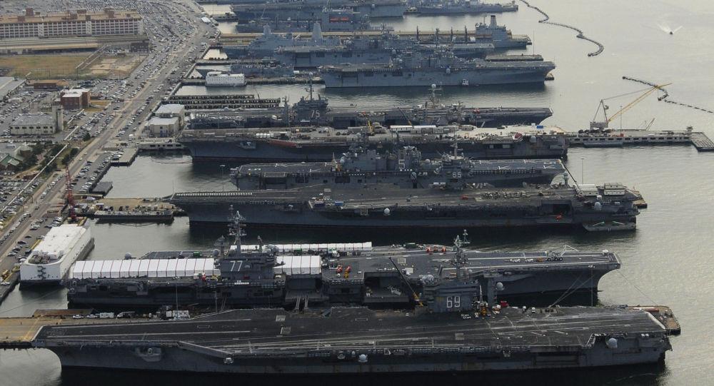 """美海军舰队突然""""大裁员""""特朗普""""355大舰队""""目标实现无望"""