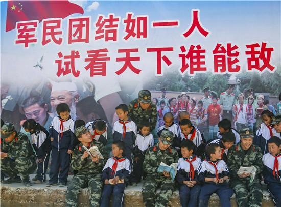 """情注陇原,武警为村民按下脱贫""""快进键"""""""