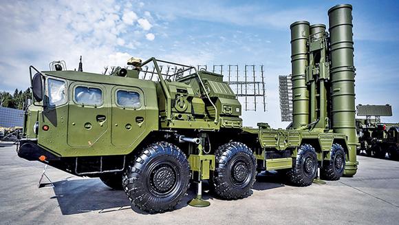 S-400防空体系(来源:中国军网)