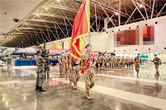 中国第16批赴苏丹达尔富尔维和工兵分队启程