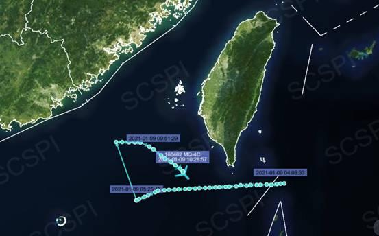 美军MQ-4C战略无人机被曝现身南海抵近广东福建海岸